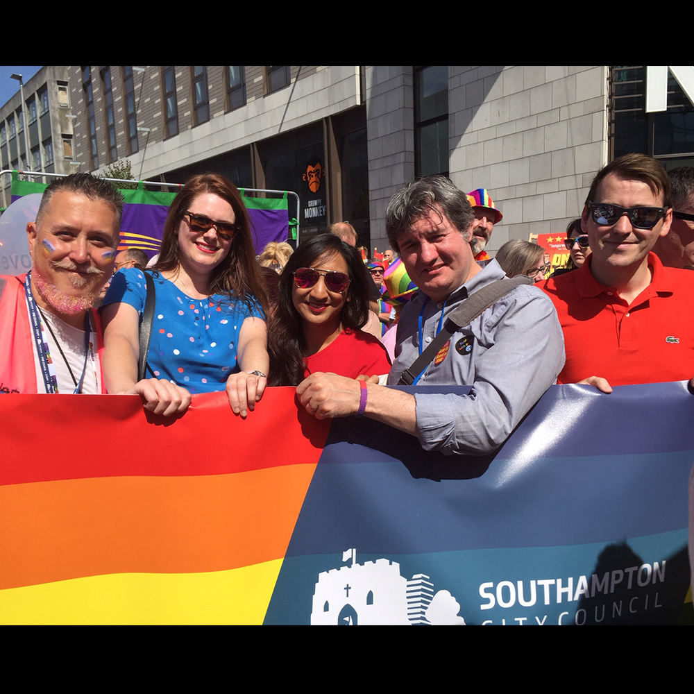 Southampton Pride August 2019