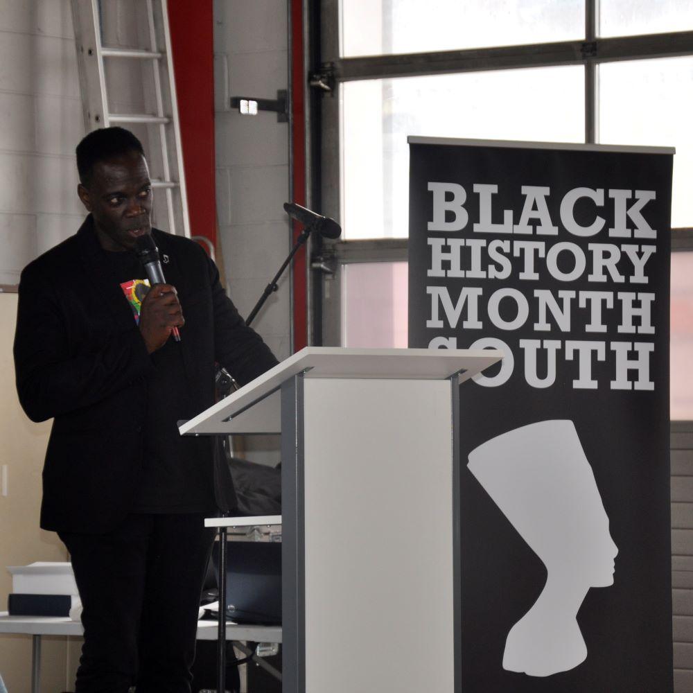 Black History Month Southampton Launch