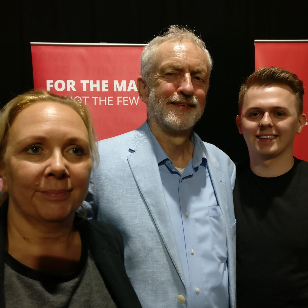 Jeremy Corbyn & Rebecca Long-Bailey in Southampton