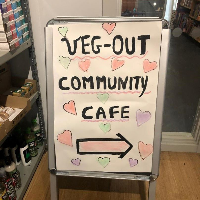 Review: Veg Out Community Cafe in October Books