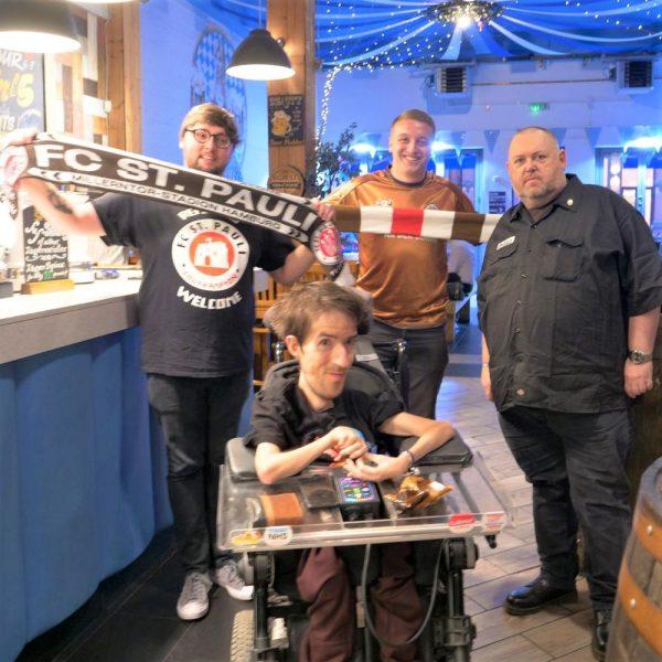 Football & politics: St Pauli's Southampton supporters