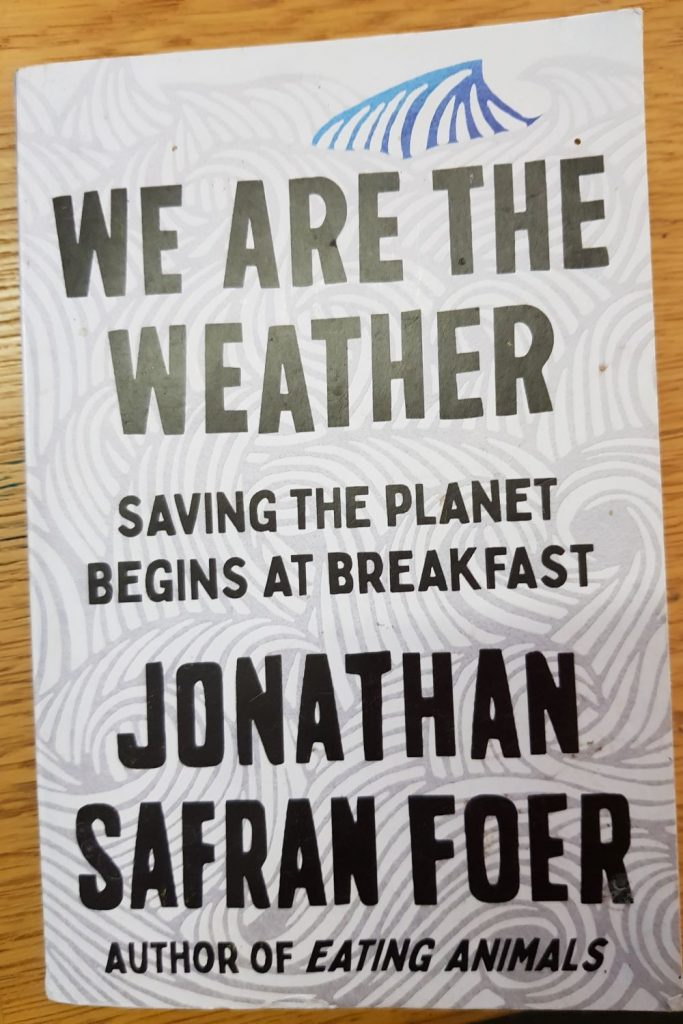 Book review: We Are The Weather: Saving the Planet Begins at Breakfast, Jonathan Safran Foer