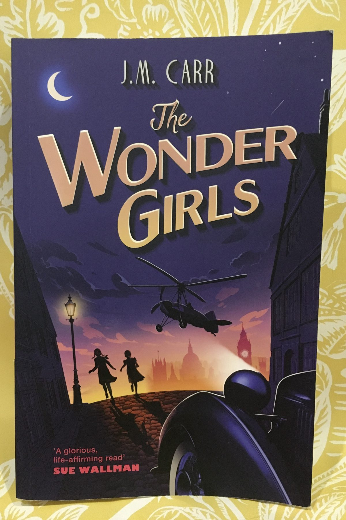 Book review: The Wonder Girls by J M Carr