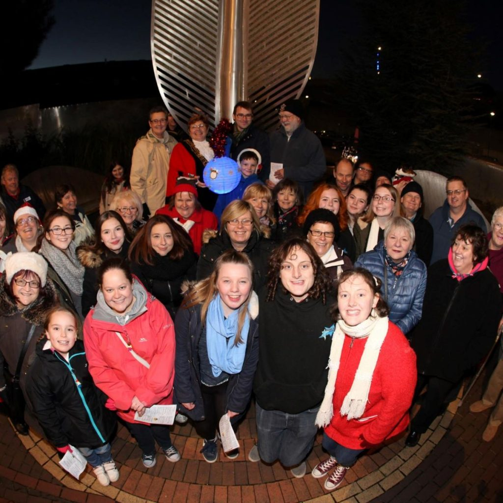 Sponsor a tree of light this Christmas to help good neighbours charity
