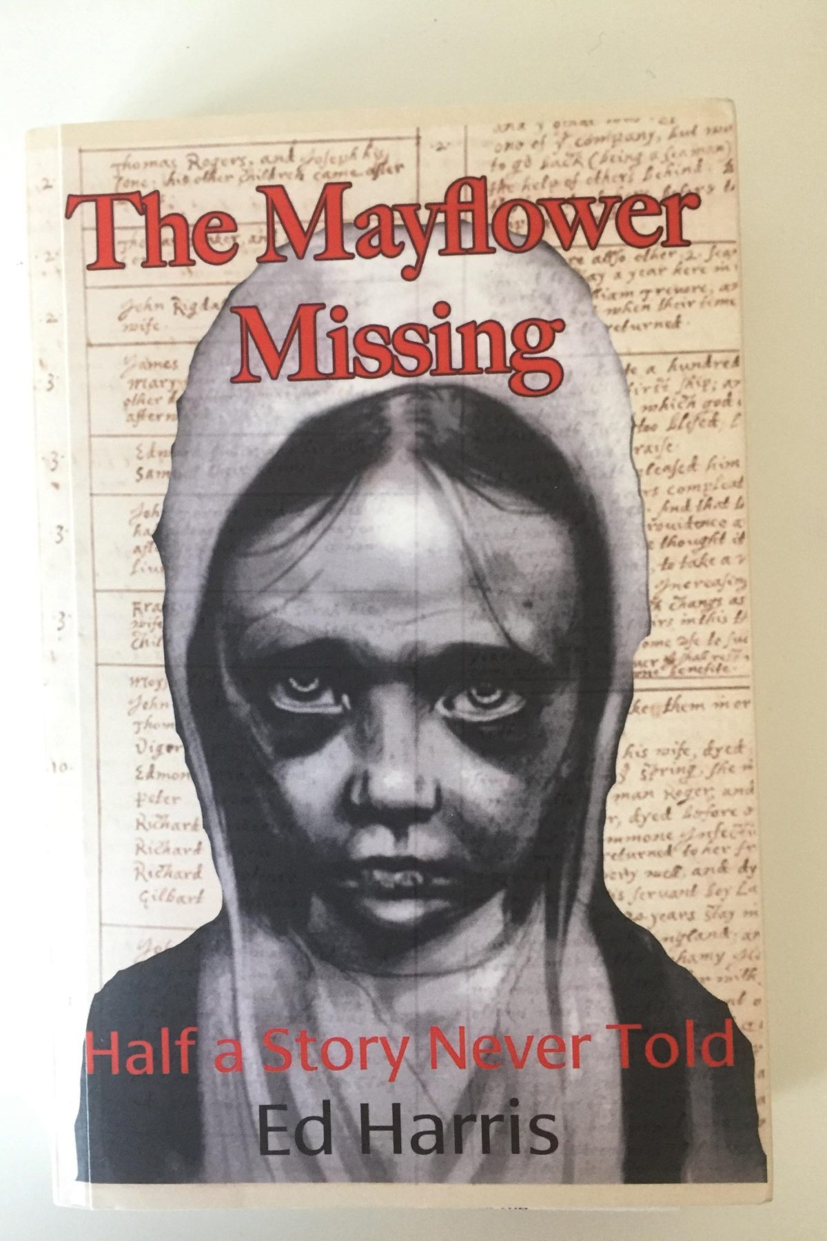 Book review: The Mayflower Missing by Ed Harris