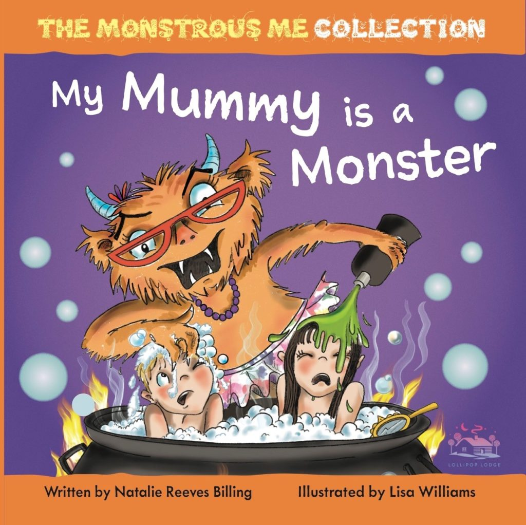 Book Review: My Mummy is a Monster/My Children are Monsters by Natalie Reeves-Billing