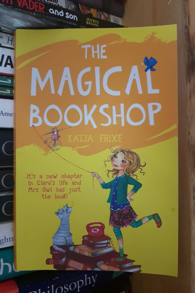 Book Review: The Magical Bookshop by Katja Frixe