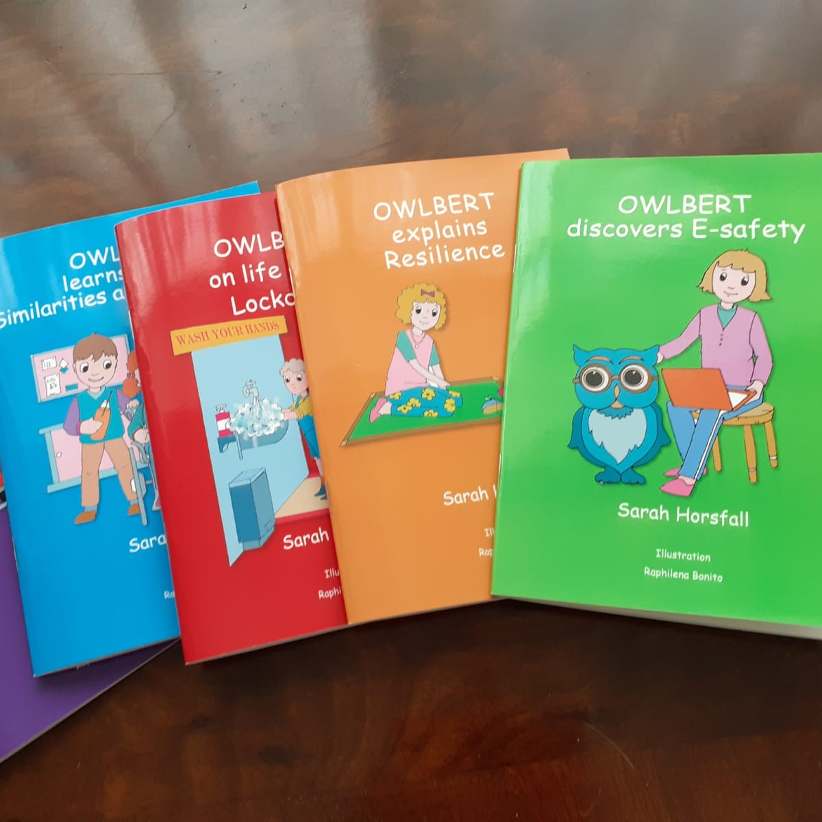 Southampton parent produces books to help children deal with worries