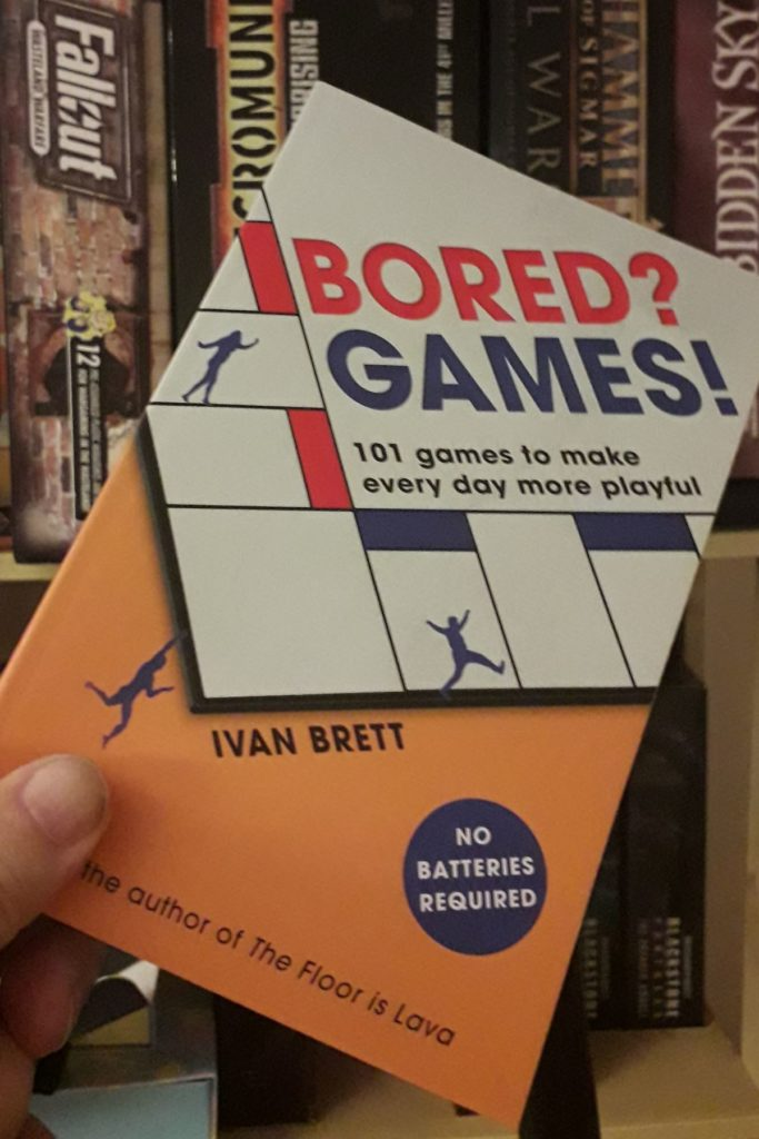 Book Review: Bored? Games! by Ivan Brett
