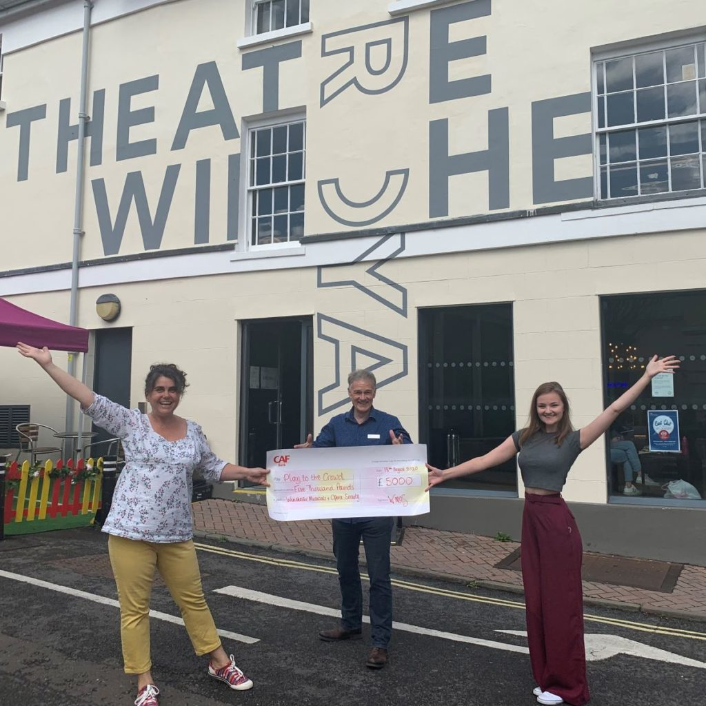 Theatre Royal Winchester's Survival Appeal gets a boost from Winchester Musicals and Operatic Society
