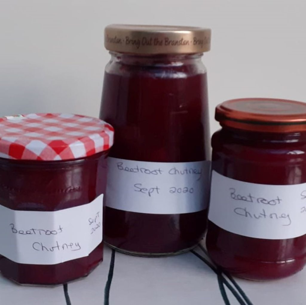 Recipe: beetroot chutney